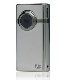 Flip Mino HD Video Chrome F460C-UK met GRATIS Statief