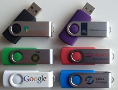 USB stick met logo, Twister