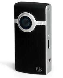 Flip Ultra 2e Generatie Zwart U1120B met GRATIS Statief
