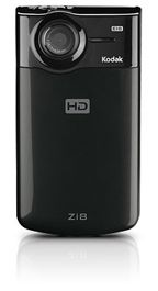 Kodak Zi8 Pocket HD Video Camera Zwart